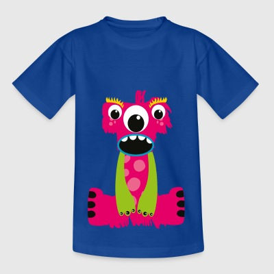 Pink Characters Monster I - Kids' T-Shirt