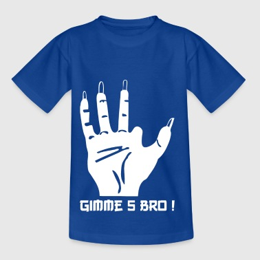 Gimme5 wite - Kinder T-Shirt