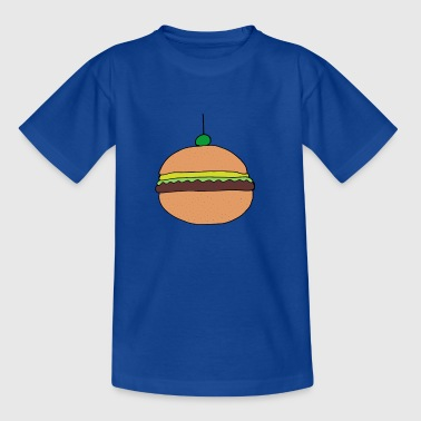 hamburger drawing - Kids' T-Shirt