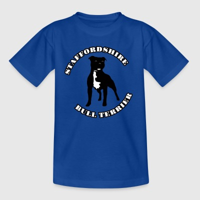 Staffordshire Bull Terrier - Kinderen T-shirt