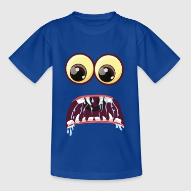 Scared Monster Eyes - Kinderen T-shirt
