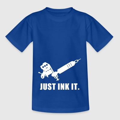 Just Ink Det tatuering tatuerare tatuerade - T-shirt barn