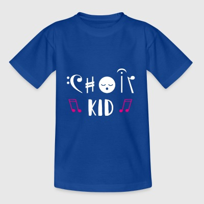 Chor Kind Choir Kid Singen Musiker Hobby Geschenk - Kinder T-Shirt