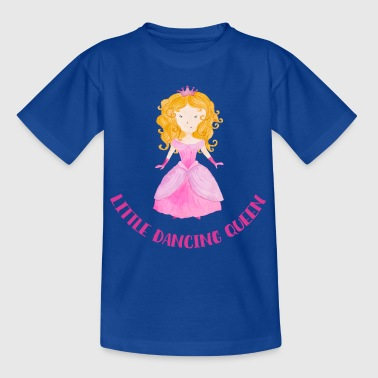 Little Dancing Queen (roze) - Kinderen T-shirt