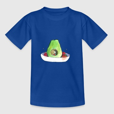 Petitesuis (avocado girl) - Kids' T-Shirt