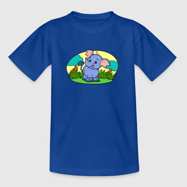 Minuscule Elephant Art Collection - T-shirt Enfant