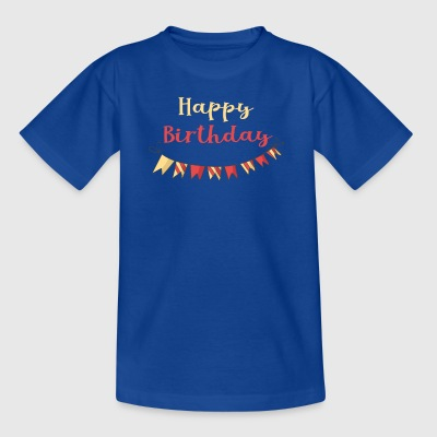 Happy Birthday - Kinder T-Shirt