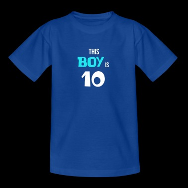 BDAY | THIS BOY IS 10 - Kids' T-Shirt