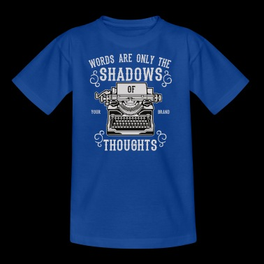 Shadows Of Thoughts2 - Kinderen T-shirt