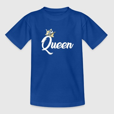 Queen Crown Royal Matching Couples Designs - Kids' T-Shirt