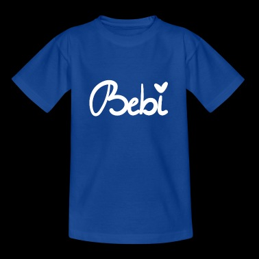 Sweet Bebi design in white from victra-shirts - Kids' T-Shirt