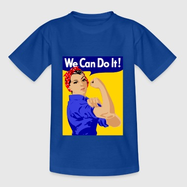 we can do it - Kinder T-Shirt