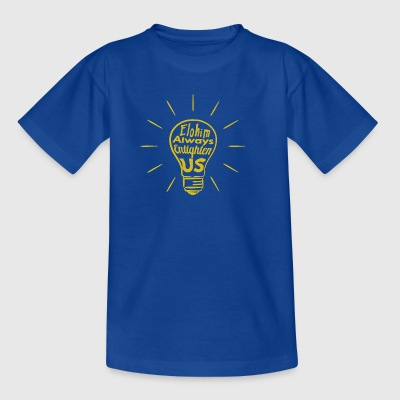 Elohim Enlighten Us - Kinder T-Shirt