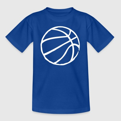 Basketball Raw Grooves - Kinder T-Shirt