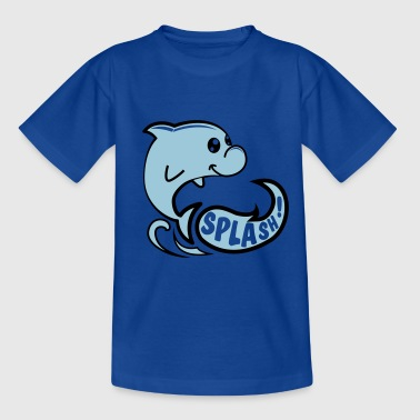 Dauphin splash - T-shirt Enfant