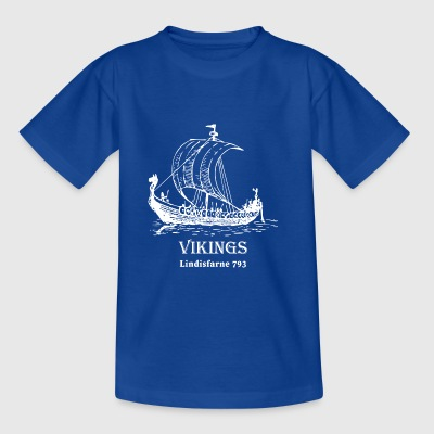 vikings Lindisfarne 793 - T-shirt barn