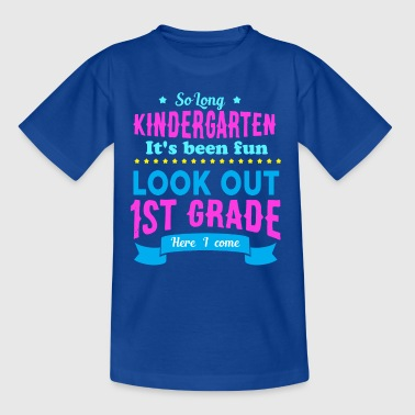 Kindergarten - 1st Rang - FIRST CLASS - Kinderen T-shirt