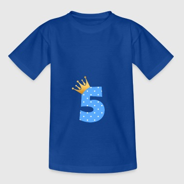 Baby 5th birthday Fifth birthday present - Kids' T-Shirt