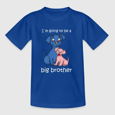 Big Brother puppy - Kids' T-Shirt