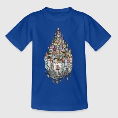 Prinzessinnenschloss - Kinder T-Shirt