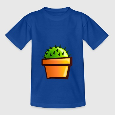 Little green cactus - Kids' T-Shirt