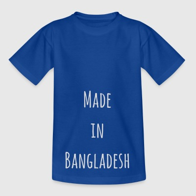 Made in Bangladesh - T-skjorte for barn
