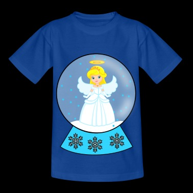 Snow globe angel - Kids' T-Shirt