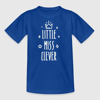 Little miss Clever - Kinder T-Shirt