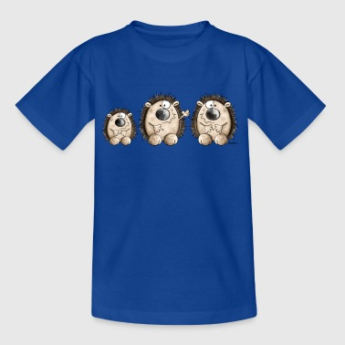 Hedgehog Family - Kids' T-Shirt