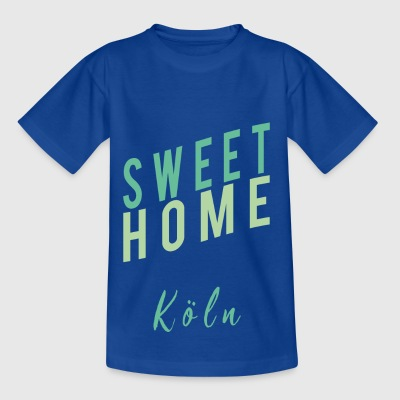 sweet home Köln - Kinder T-Shirt
