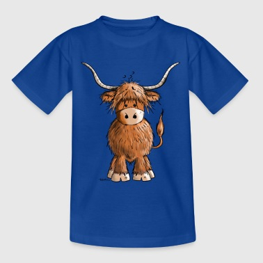 Scottish Highland Cattle - Kids' T-Shirt