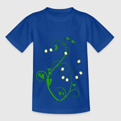 Blumen - Kinder T-Shirt