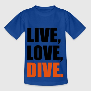 2541614 13914282 dive - Kinder T-Shirt