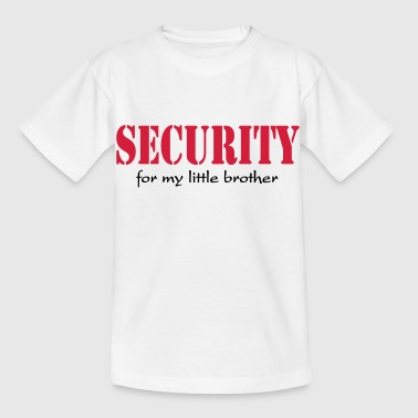 Security for my little Brother - Maglietta per bambini