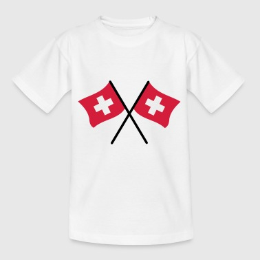Swiss Flag - Kids' T-Shirt