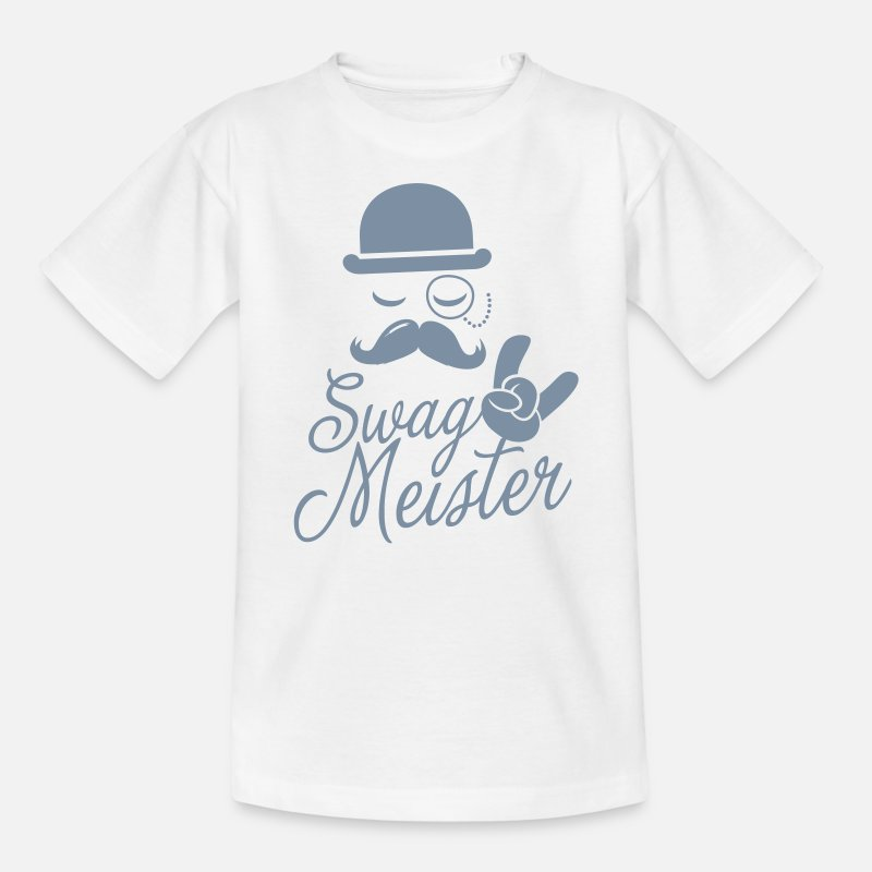 Lustige Swag Meister Sprüche Mit Modischen Schnurrbart Like A Coole Sir Meme T Shirts Für Geek Verrückte Geburtstag Oder Karneval Party Kinder