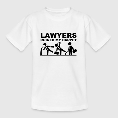Lawyers ruined my carpet Camisetas - Camiseta niño