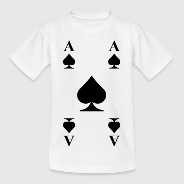Ace of spades  - Kids' T-Shirt