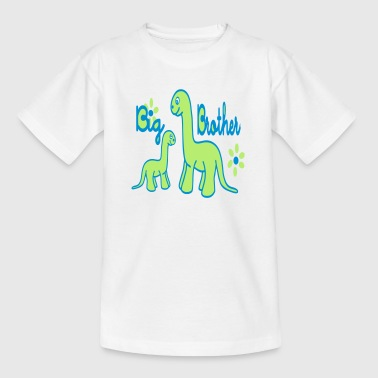 Dino_big brother - Kids' T-Shirt