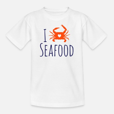 Seafood Love - Kids' T-Shirt