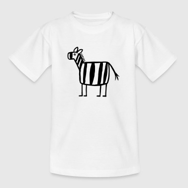 Zebra - Zebra Crossing - Kids' T-Shirt