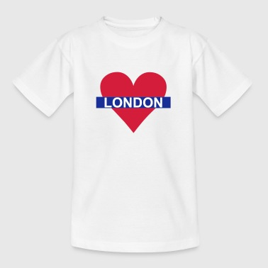 Love London - Underground - Kids' T-Shirt