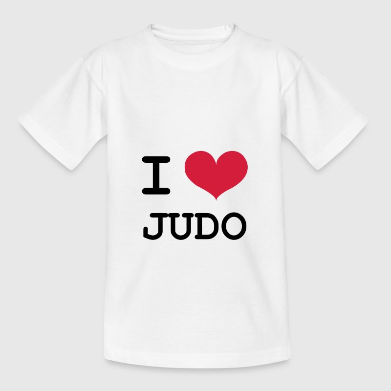 I Love Judo ! - Kinder T-Shirt