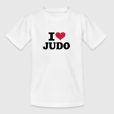 I love Judo  - Kinder T-Shirt