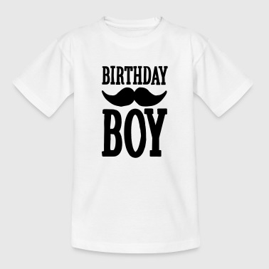 Birthday Boy Hipster - T-shirt barn