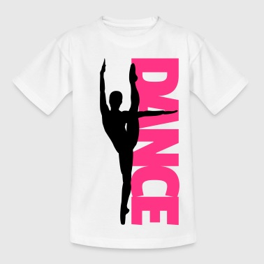Dance Text Girl  - Kinderen T-shirt