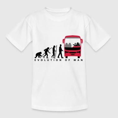 evolution_busfahrer_122013_a_3c - Kinder T-Shirt