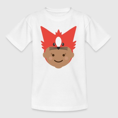 Florence the Fox | Ibbleobble - Kids' T-Shirt
