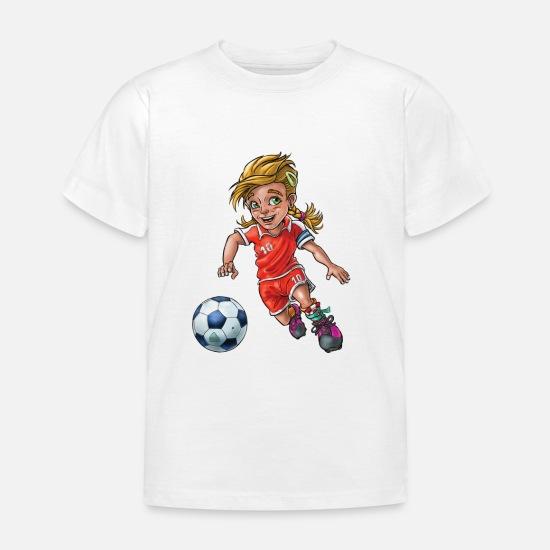 ca4ab98c Soccer T-skjorter - Liten fotballspiller (liten fotballspiller) - T-skjorte  barn