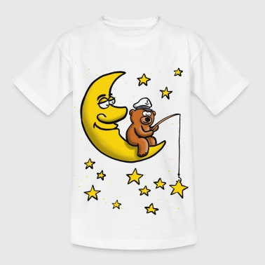 Good night, star Moon Angel Bear - Kids' T-Shirt